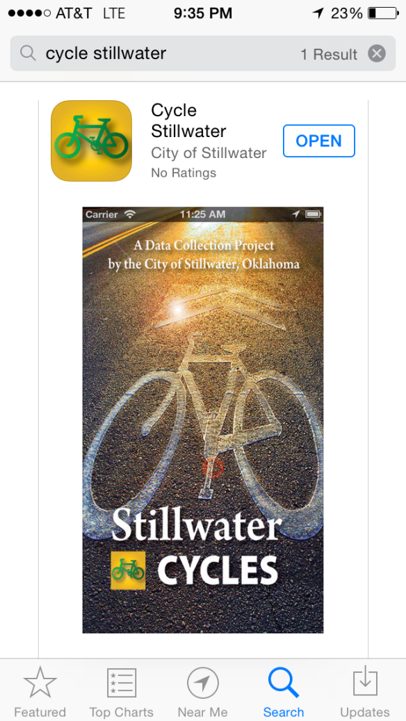 Cycle Stillwater in App Store.